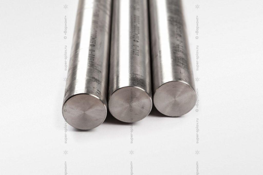 Титановые прутки от компании ТПК Вариант