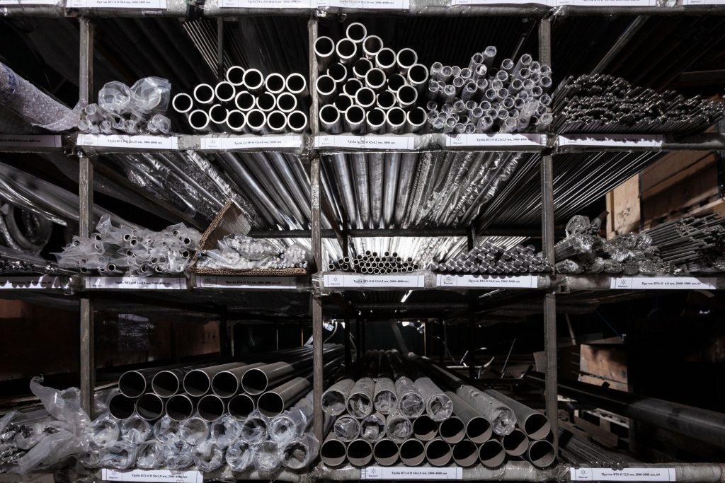 трубы из титана ВТ6