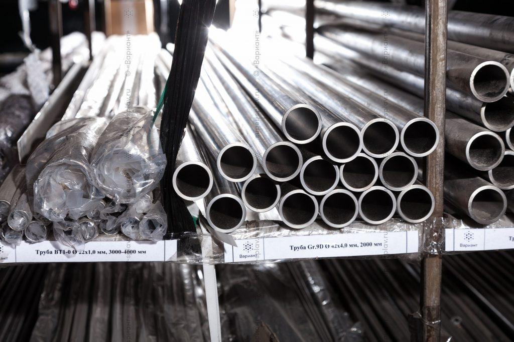 Титановые трубы Grade 9D
